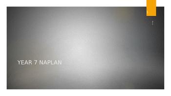 Naplan Writing Year 7