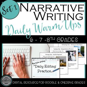 Narrative Daily Editing Practice (STAAR) Set 1:  Google Cl