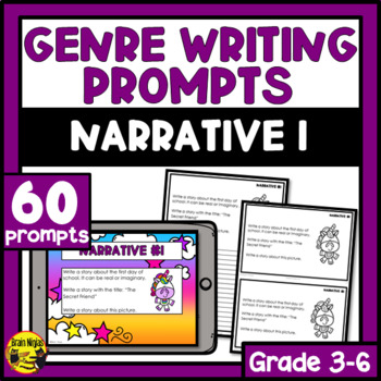 Daily Narrative Writing Prompts - Set 1