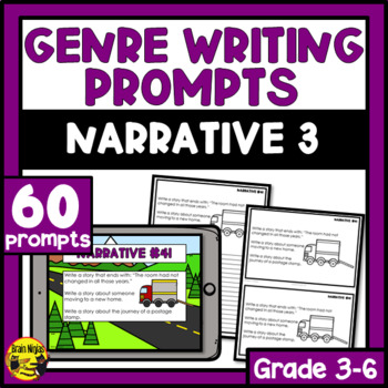 Daily Narrative Writing Prompts - Set 3
