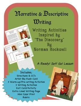 Narrative & Descriptive Writing Activities for Rockwell's