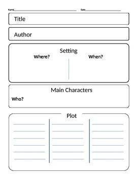 Narrative Elements, Story Elements