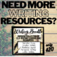 Narrative Essay Unit Packet: Prompts, Word Web, Graphic Or