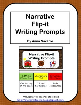 Narrative Flip-it Writing Prompts