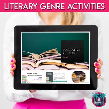 Identifying Narrative Genres Bundle for Older Students