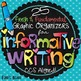 Writing Graphic Organizers Bundle: Narrative, Opinion, and