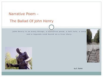 Narrative Poem- The Ballad Of John Henry