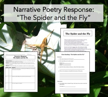 Narrative Poetry Response: The Spider and the Fly