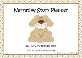 Narrative Story Planner Graphic Organizer Poster for Prima