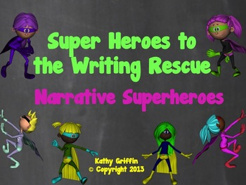 Narrative Writing Superheroes Video