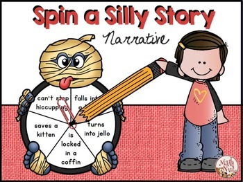 Halloween Writing: Spin a Silly Story