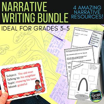 Narrative Writing BUNDLE Helping Students Write Quality Na