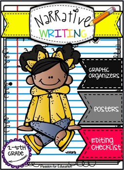 Narrative Writing Bundle!! (Posters, Graphic Organizers, C