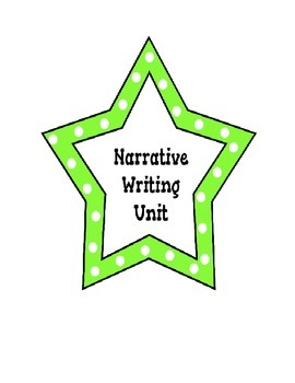 Narrative Writing Bundle...Common Core Aligned