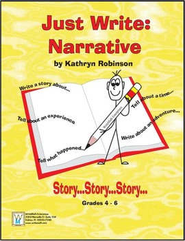 Narrative Writing Program - Daily Lessons & Templates 4th