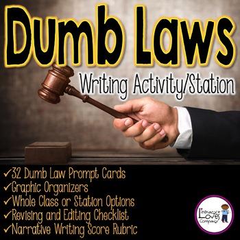 Narrative Writing: Dumb Laws