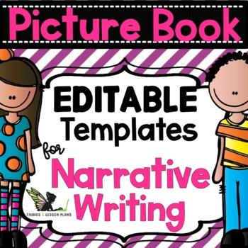 Narrative Writing - Editable Templates