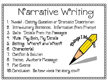 Narrative Writing Elements
