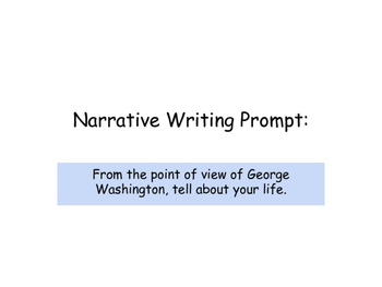 Narrative Writing POV