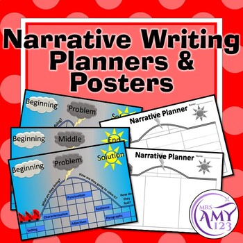 Narrative Writing Posters and Planners