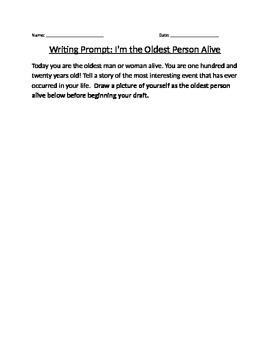 Narrative Writing Prompt
