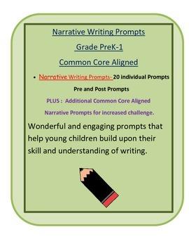 Narrative Writing Prompts- PreK -1