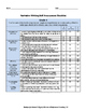 Narrative Writing Rubric and Checklist for 4th Grade