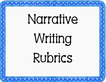 Narrative Writing Rubrics for First Grade