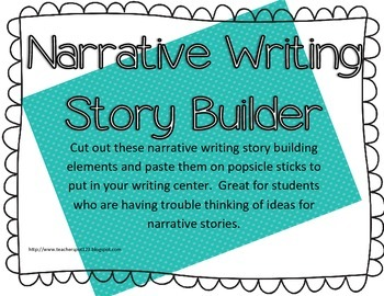 Narrative Writing Story Builder