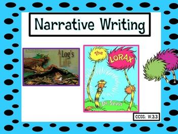 Narrative Writing Task: A Tree's Life Story