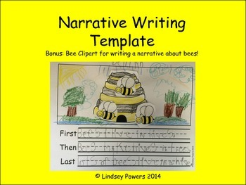 Narrative Writing Template