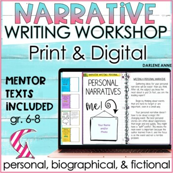 WRITING A NARRATIVE: PERSONAL, FICTIONAL & BIOGRAPHICAL WRITING WORKSHOP