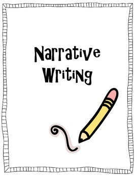 Narrative Writing, Writing Prompts, Writing Graphic Organizer