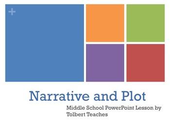 Middle Grades - Narrative and Plot Lesson