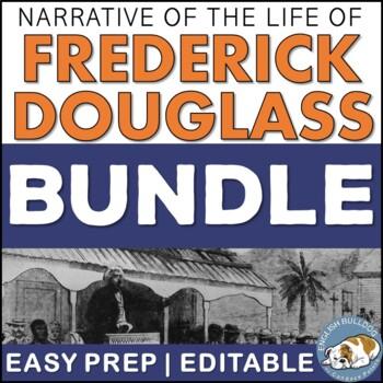 Narrative of the Life of Frederick Douglass Activity Mini Bundle