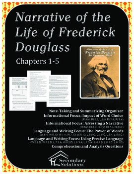 Narrative of the Life of Frederick Douglass Chapters 1-5 {FREE}