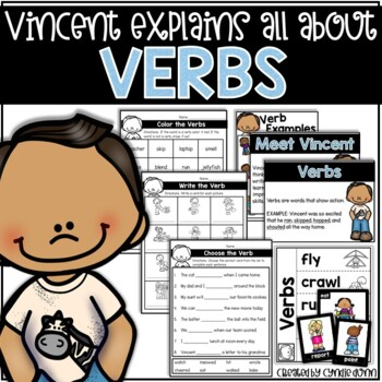Verbs:  Vincent Explains All About Verbs