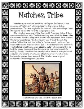 Natchez Native American Tribe of Louisiana Informational Article