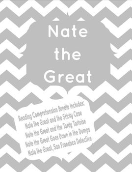 Nate the Great Reading Comprehension Bundle!