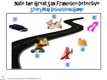 Nate the Great San Francisco Detective Story Map Discussion Game