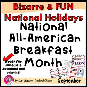 National All-American Breakfast Month (September)