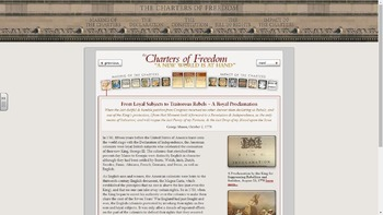 National Archives Charters of Freedom Search and Study