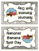 National Banana Split Day (August 25th)