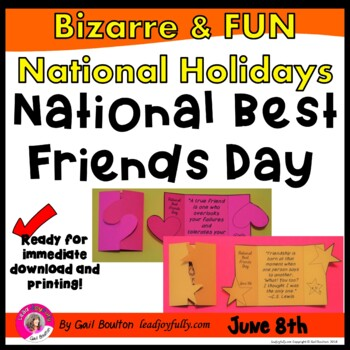 National Best Friends Day (June 8th)