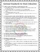 National Core Arts Standards - Music Standards - Checklist