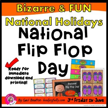 National Flip Flop Day (June 17th)
