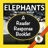 National Geographic KIDS:  Elephants- Reader Response Book