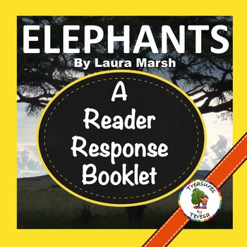 National Geographic KIDS:  Elephants- Reader Response Book