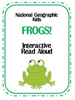 National Geographic Kids FROGS! Interactive Read Aloud