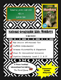 National Geographic Kids Monkeys Informational Text Unit